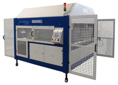 Páskovací stroj pro páskování kartonu MOSCA MCB-2 XT